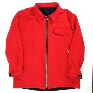Marlboro Reversible Wool Coat
